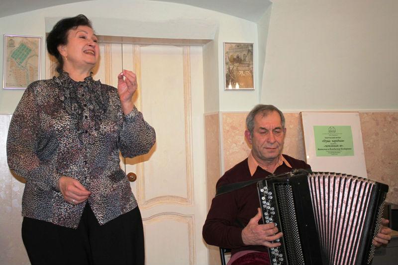 Творческий вечер Натальи и Владимира Комаровых