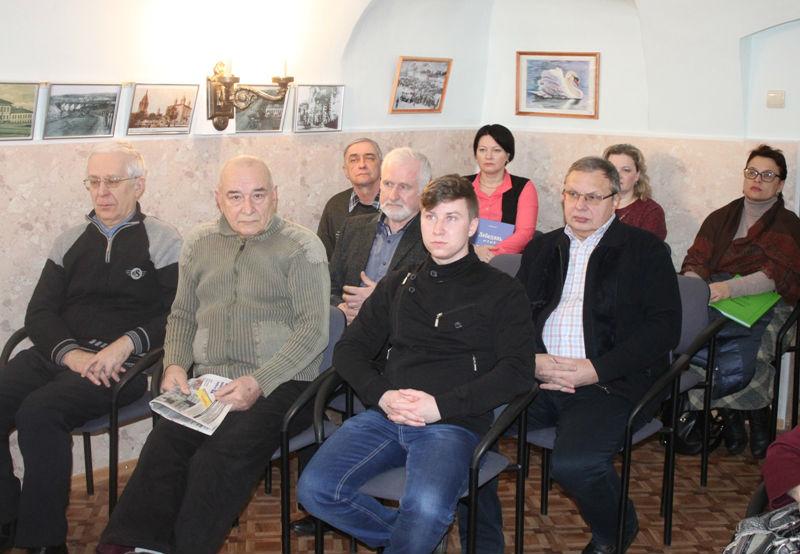 """Презентация сборника """"Записки ЛОКО"""" в Лебедяни (3 марта 2018)"""
