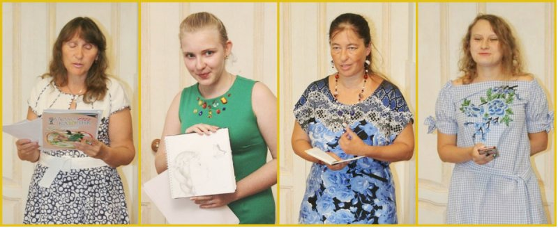 Участники встречи «Творческие времена года в Лебедяни» (27 августа)