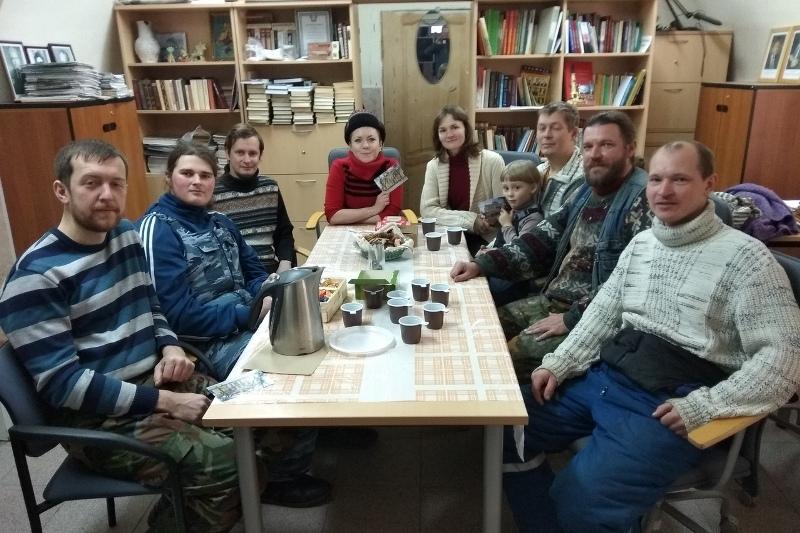 мини-пленэр в Лебедяни (январь 2019)