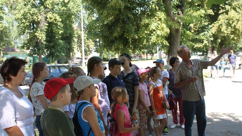 Школьники побывали в гостях в Доме Игумновых
