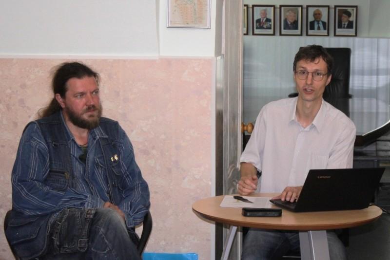 презентация книги Лебедянская палитра 15 июня