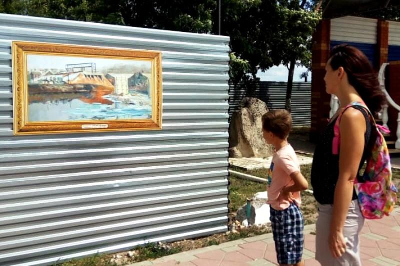 репродукции картин художников 20 века подарили Лебедяни