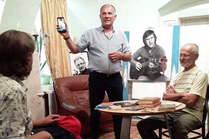 День памяти Владимира Высоцкого в Лебедяни 25 июля 2021 года